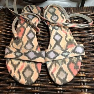 Free People wrap ankle sandal